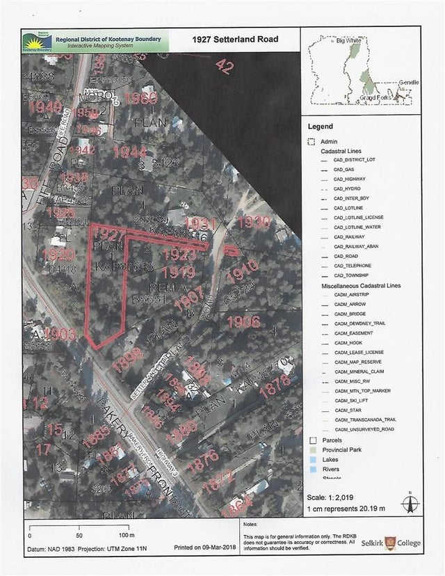 1927 SETTERLAND Road - Christina Lake No Building for sale(2428633) #8