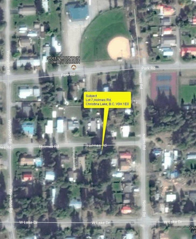Lot 7 HOLMES Road - Christina Lake No Building for sale(2436709) #6
